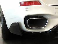Сплитеры на задний бампер M Performance для BMW X5 F15, БМВ Х5 Ф15
