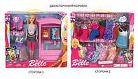 Кукла типа Барби + одежда, мебель, аксессуары, JX600-100C