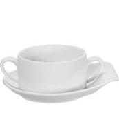 Чашка суповая с блюдцем Vista Alegre 300 мл