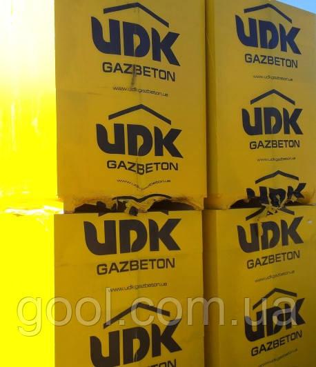 Газобетон ЮДК гладкий блок 600х200Х400 мм