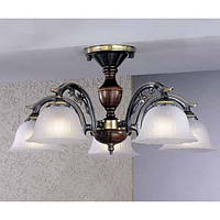 Потолочный светильник RECCAGNI ANGELO PL 2700/5 бронза/белый