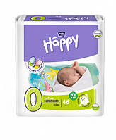 Подгузники Bella Happy Before Newborn 0 (до 2 кг) 46 шт.