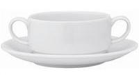 Чашка суповая с блюдцем (этажерные) Vista Alegre 300 мл