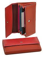 Стильный женский кошелек Rainbow WRS-1 red, фото 1