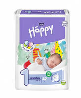 Подгузники Bella Happy Newborn 1 (2-5 кг) 42 шт.