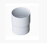 Труба водосточная с муфтой ПВХ 3м Белая