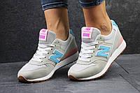 Женские кроссовки New balance 996 серые 2412