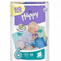 Подгузники Bella Happy Junior 6 (16+кг) BIG PACK 54 шт.