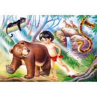 """Кастор пазлы 060 """"Книга джунглей"""" 32*23см, В-06229"""