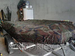 Тент на пвх лодку. Ткань - полиестер Cordura (сша).