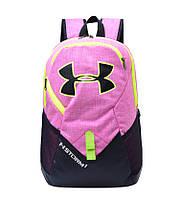"""Городской рюкзак унисекс """"UNDER ARMOUR"""" розовый"""