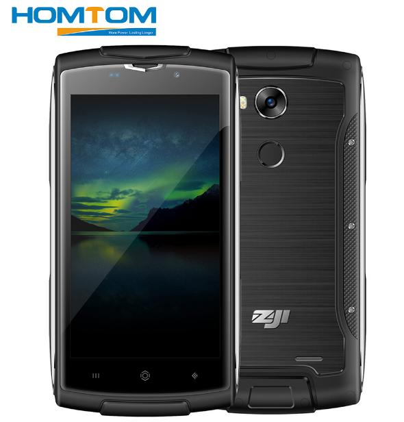 """Телефон Homtom ZOJI Z7 5"""" (1280x720) IP68 / MT6580 / 2Гб / 16Гб / 8Мп / 3000мАч"""