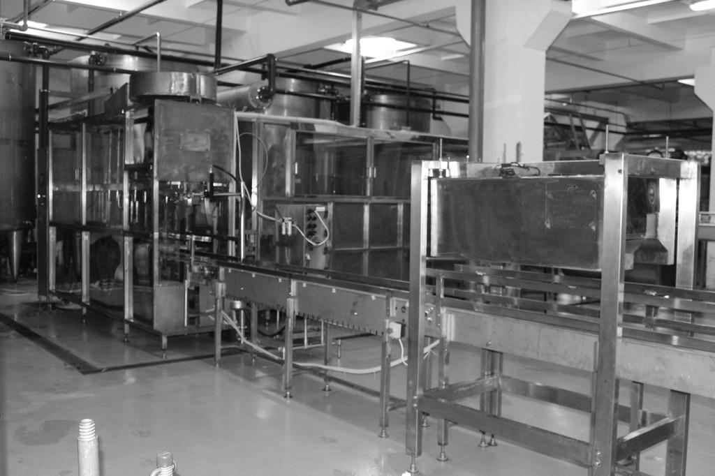 Линия розлива воды 1400 Баллонов в час ЛВР МКС -1400