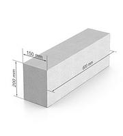 Газобетон ЮДК гладкий блок 600х200Х150 мм