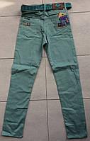 Цветные брюки-джинсы на мальчика 9-12 лет в розницу