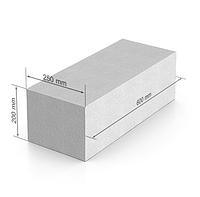 Газобетон UDK 600х200Х250 мм гладкий блок
