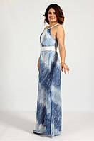 Enigma Store G 0727 Платье длинное с открытой спиной