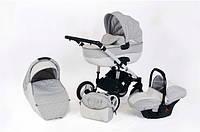 Детская универсальная коляска 3 в 1 Ottis Adbor - Польша - с адаптером для установки автокресла