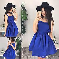 Платье сарафан с пышной юбкой 0546-3