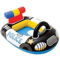 Круг надувной - плотик Полицейская машина Intex 59586