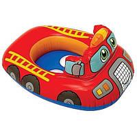 Круг надувной - плотик Пожарная машина  Intex 59586