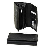 Женский кожаный кошелек W0807 black, фото 1
