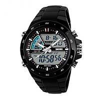 Мужские Спортивные Часы Skmei Shark Черные (Код 075)