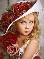 Алмазная вышивка Маленькая принцесса 53 х 40 см (арт. FR542) полная выкладка