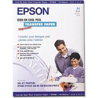 Бумага EPSON A4 Iron-On Cool Peel Transfer Paper (C13S041154)