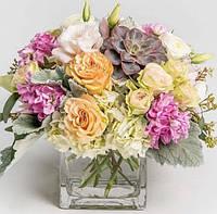 Набор алмазной мозаики Цветы для мамы  30 х 30 см (арт. FR543) полная выкладка