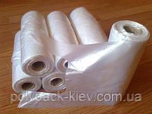 Пакети-майка в рулоні 24х42 см/10 мкм, 500 шт. рулон, міцний поліетиленовий пакет в рулонах купити оптом Київ