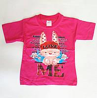 Детская футболка  для девочек  1-3 лет.Турция.Оптом