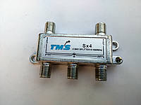 4 way splitter 5-1000Mhz TMS Sx4