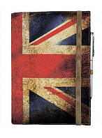Блокнот на резинке Rainbow Флаг Англии