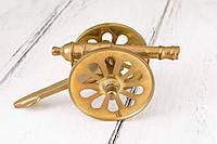 Коллекционная пушка малая, латунь, Германия, 13 см, фото 1