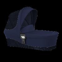 Корзина для колясок серії M / Midnight Blue-navy blue (з адапторами)