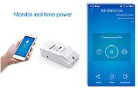 Sonoff Pow WiFi 16А 3500W  переключатель с функцией измерения потребляемой мощности