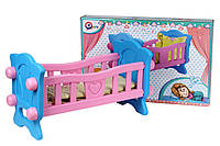 Детская кроватка для пупсов Технок (4173)