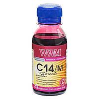 Чернила WWM CANON CLI-451/CLI-471 100г Magenta (C14/M-1)