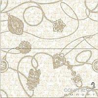 Плитка для ванной Pamesa Плитка настенная 50x50 Pamesa Crono декор-панно Giolielli Marfil глянцевая