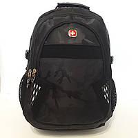 Черный рюкзак Swissgear 9363