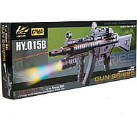 Автомат CYMA HY015B с пульками,лазер,свет.кор. H120309500
