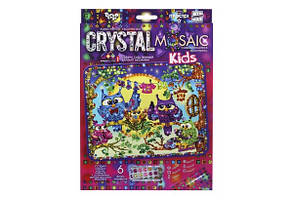 Набор Мозаика из кристаллов Cristal Mosaic Kids 10 Danko Toys