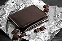Кожаное портмоне 2.0 Шоколад. Ручная работа