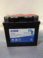 Аккумулятор мото Exide ETZ7-BS 12V6Ah