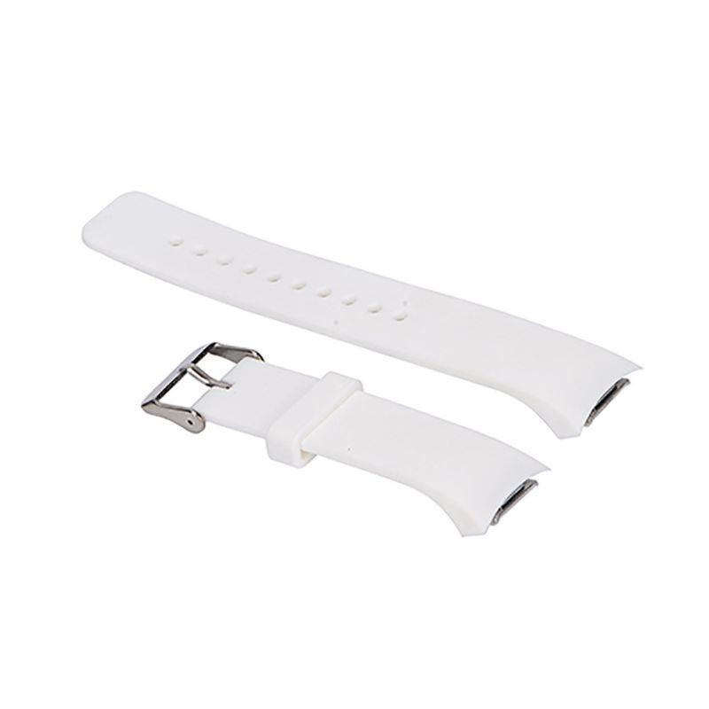 Силиконовый ремешок для Samsung Gear S2 Sports SM-R720 / SM-R730 White
