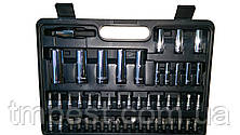 "Набор инструмента 1/4"" и 1/2"" 108 ед. 6 граней ЕТ-6108 INTERTOOL бесплатная доставка, фото 3"