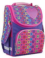 """Рюкзак школьный каркасный Rainbow 553324, ТМ """"Smart"""""""