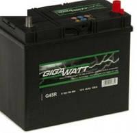 Автомобильный Аккумулятор GigaWatt 45 А (Asia) Гигават 45 Ампер (Азия) GW 0185754555