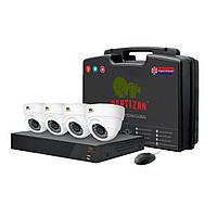 Комплект видеонаблюдения Partizan Indoor Kit 1MP 4xAHD (81082)